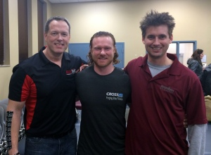 Dr. Perry Nickelson, Dr. Nate Bixby and Dr. Nick Nowicki